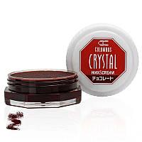 Воск для обуви Columbus Crystal Wax&Cream 35ml Chocolate