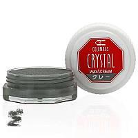 Воск для обуви Columbus Crystal Wax&Cream 35ml Gray