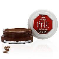 Воск для обуви Columbus Crystal Wax&Cream 35ml Cocoa