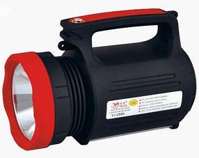 Фонарь ручной YJ-2886 светодиодный, аккумуляторный