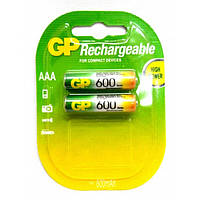 Аккумулятор GP Batteries AAA 600mAh NiMh 2шт (60AAAHC)