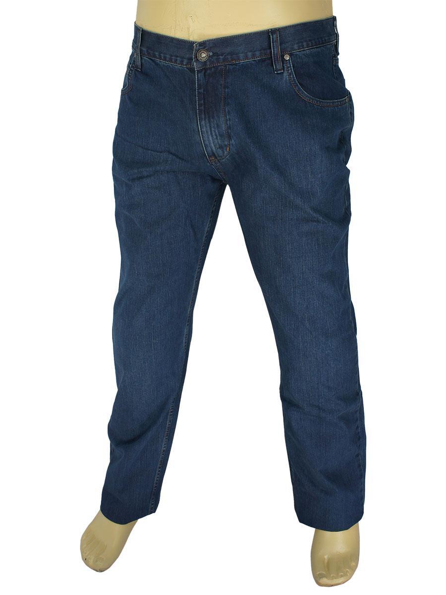 Мужские темно-синие джинсы Mirac M:2598-P BT P.N.226 в большом размере