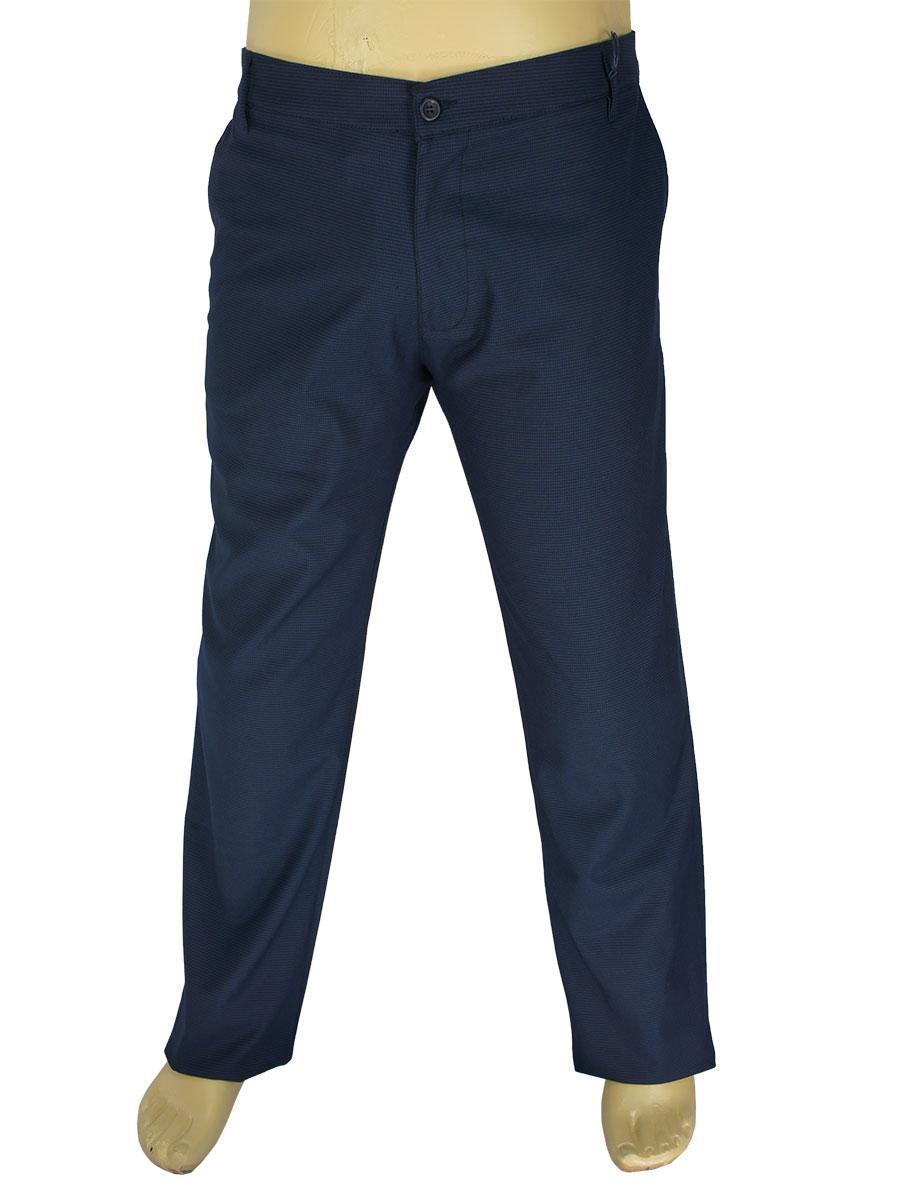 Мужские классические джинсы NAX 180-5155 темно-синего цвета