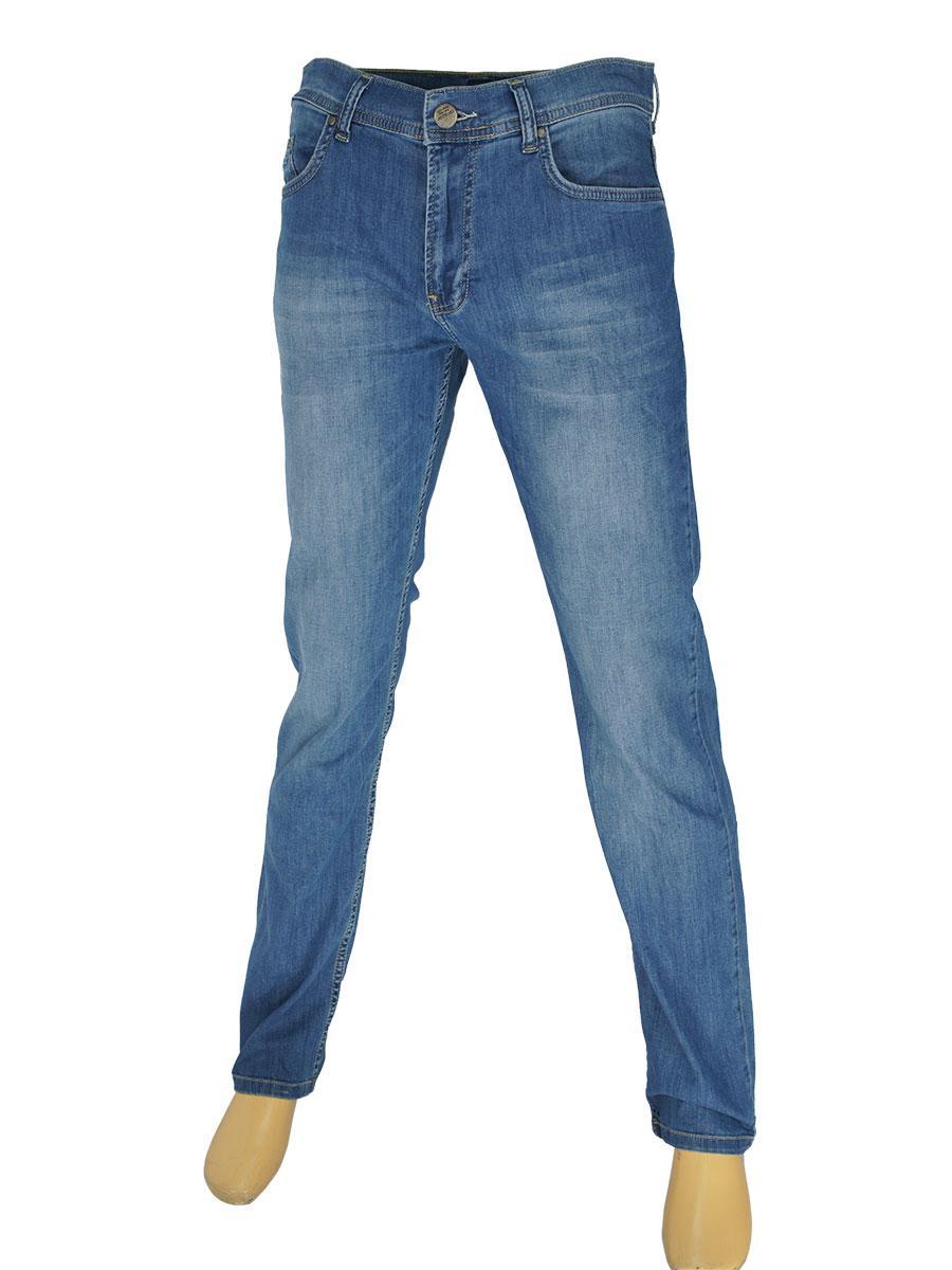 Мужские стильные джинсы Cen-cor CNC-1457 синие