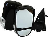 Зеркало боковое ГАЗ 3302 нов. обр. с поворот. лев. черное, глянец