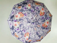 Зонт женский автомат Lantana Цветы (L645-6) на 9 спиц