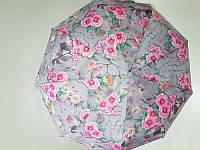Зонт женский автомат Lantana Цветы (L645-7) на 9 спиц
