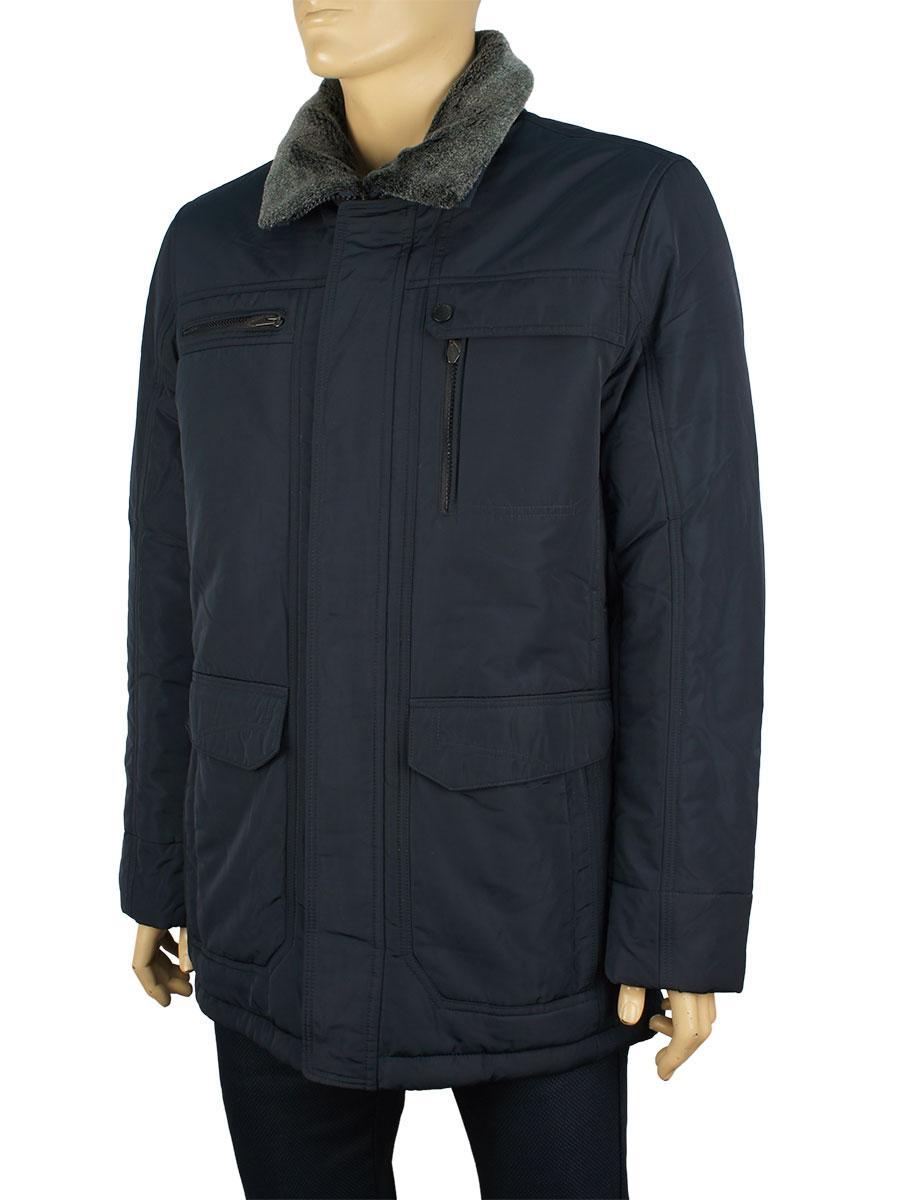 Мужская зимняя куртка Santoryo WK 8183 в темно-синем цвете