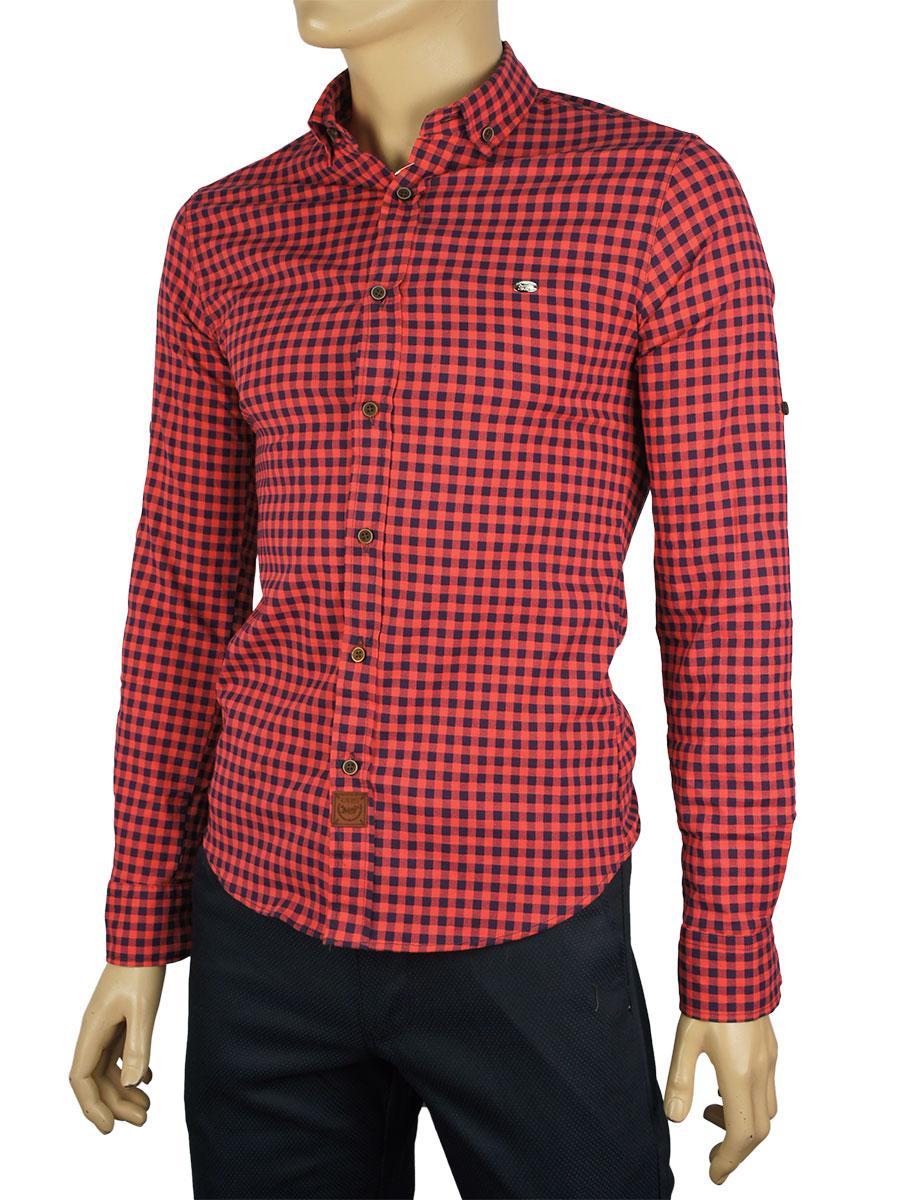 Рубашка мужская  Еnisse UB-1233-ZB