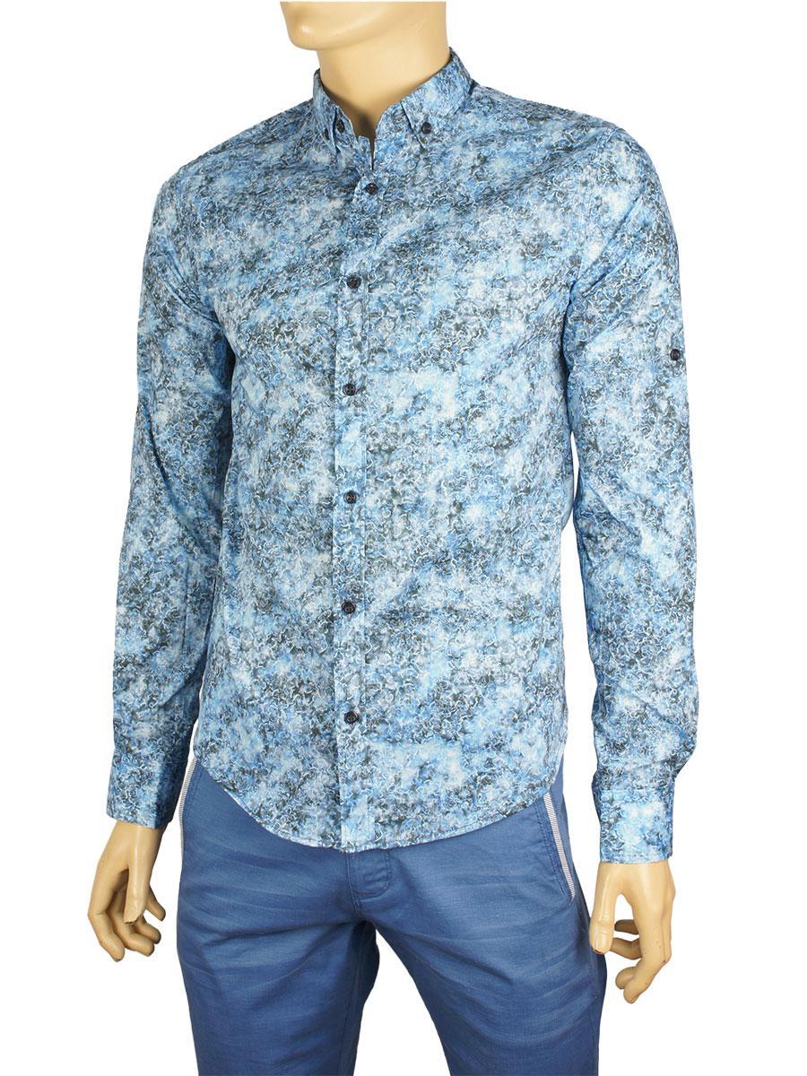 Рубашка мужская Еnisse UC 1243-BR-V