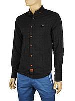 Мужская рубашка Еnisse UB-1250-ZB черная