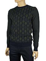 Молодежный мужской свитер NCS 3079 цвета хаки