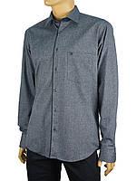 Мужская рубашка  Negredo 1038#05 в синем цвете