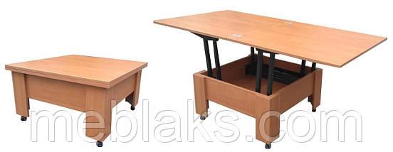 Стол трансформер для гостинной Сигма , фото 3