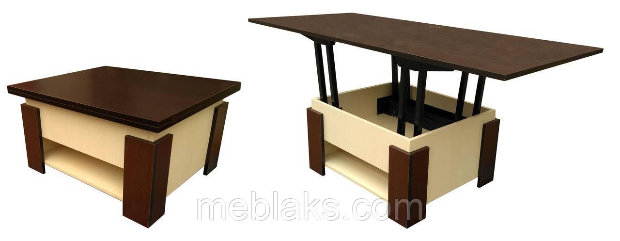 """Стол трансформер раскладной для кухни """"Лямбда"""""""
