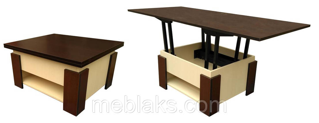 """Стол трансформер раскладной для кухни """"Лямбда"""", фото 2"""