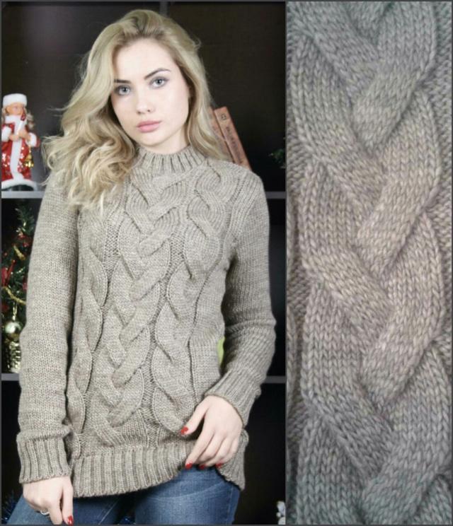 "Женский теплый свитер ""Ashra""."