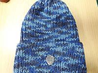РАСПРОДАЖА Великолепная теплая шапка с подвортом по низкой цене