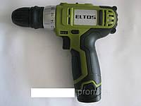 Шуруповёрт аккумуляторный Eltos ДА-12DFR, фото 1