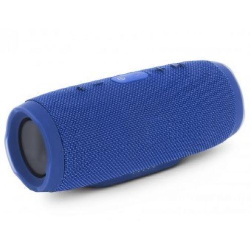 Портативная bluetooth колонка MP3 плеер E3 CHARGE3 waterproof водонепроницаемая Power Bank Blue