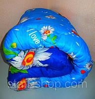 Одеяло двухспальное (Двойной силикон) ткань полиэстер