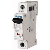 Автоматичний вимикач 10А 4,5кА EATON PL4-C10/1 (293123)