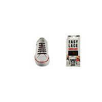Шнурки плоские EASY LACE FLAT -  BOX 20шт (хватает до 10 пар обуви) BROWN
