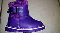 Угги зимние ботинки для девочек размеры 21-26, фото 1