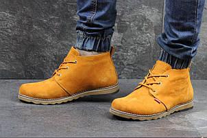 Мужские зимние ботинки Levis, на меху,горчичные 45р, фото 2