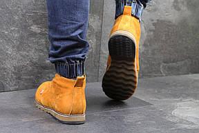 Мужские зимние ботинки Levis, на меху,горчичные 45р, фото 3