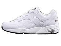 Мужские кроссовки PUMA R698 Trinomic Crackle White