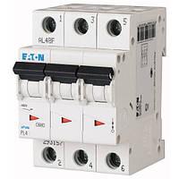 Автоматичний вимикач Eaton PL4-B25/3