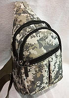 Рюкзак косуха мужская сумка через плечо барсетка 25х18х14см