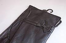 Женские кожаные перчатки КРОЛИК СЕНСОРНЫЕ Большие, фото 2