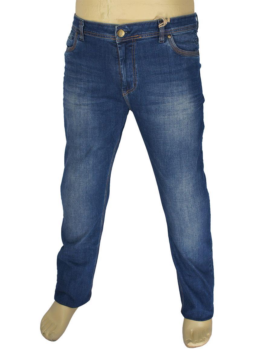 Чоловічі темно-сині джинси X-Foot 140-2276 великого розміру