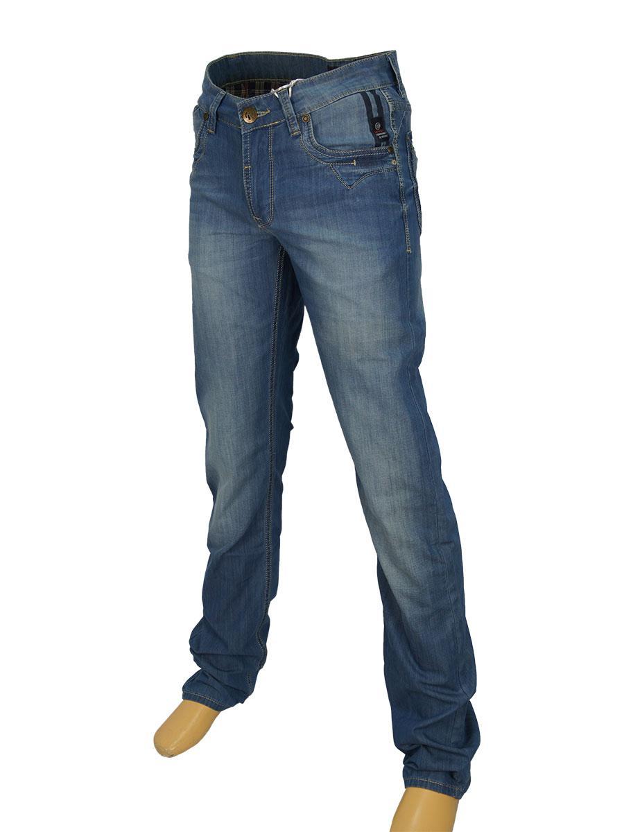 Стильні чоловічі джинси Differ E-2072 SP.0233 синього кольору
