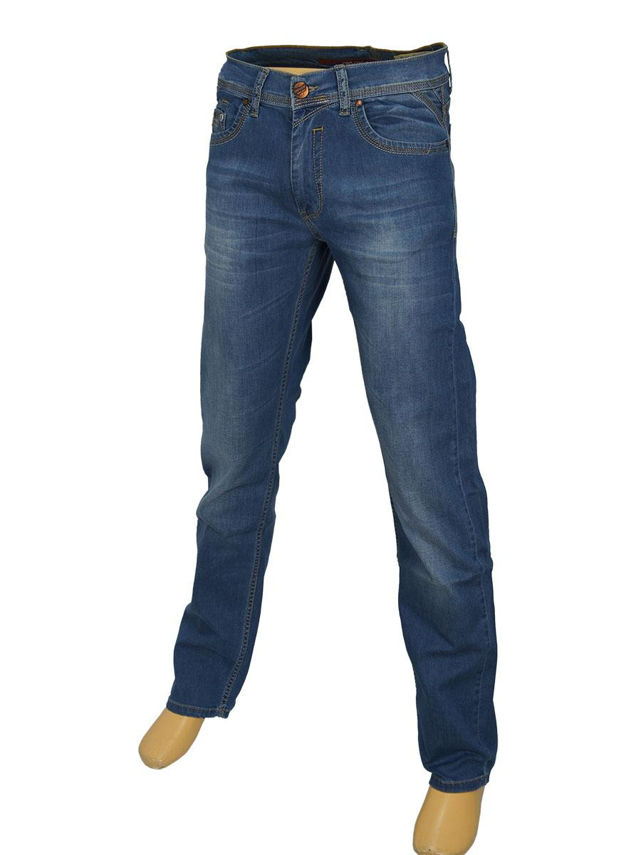 Чоловічі стильні джинси Cen-cor CNC-1241 синього кольору