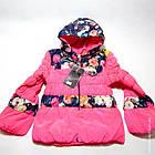 Куртка ' Н.М' Комбо Цветы 1403-3989-91 весна-осень