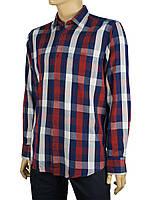 Чоловіча сорочка бавовняна Negredo 0310 indigo