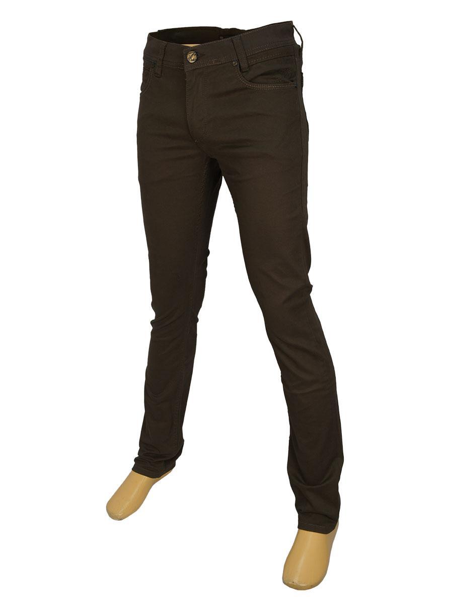 Чоловічі джинси Cen-cor CNC-1297 коричневого кольору