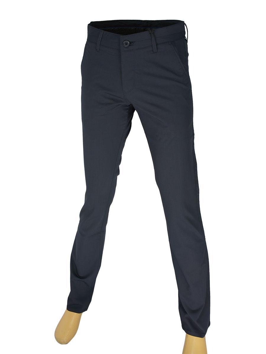 Чоловічі брючні джинси X-Foot 180-3084 темно-синього кольору
