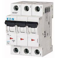 Автоматичний вимикач Eaton PL6-B20/3