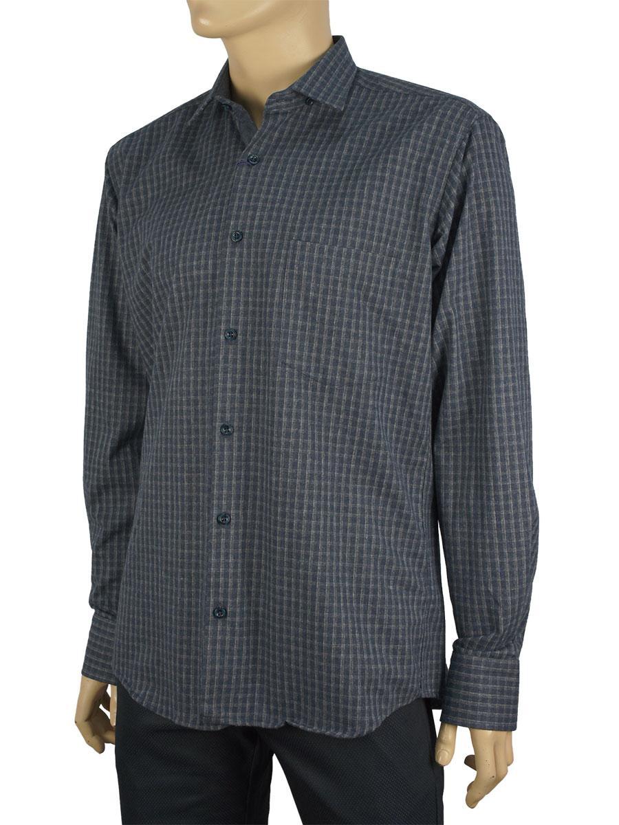 Чоловіча сорочка  Negredo 3000#140 в клітинку