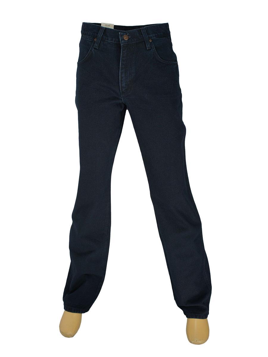 Чоловічі джинси реплика W Р/5929 темно-синього кольору
