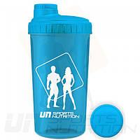 Шейкер Un Sports Nutrition 700ml Twist Cap Blue Neon