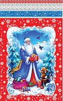 Новогодние пакеты для конфет и подарков 100шт. 25*40 см.