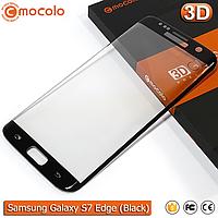 Защитное стекло Mocolo Samsung Galaxy S7 Edge 3D (Black), фото 1