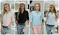 Стильная женская блузка в расцветках норма / Украина / софт