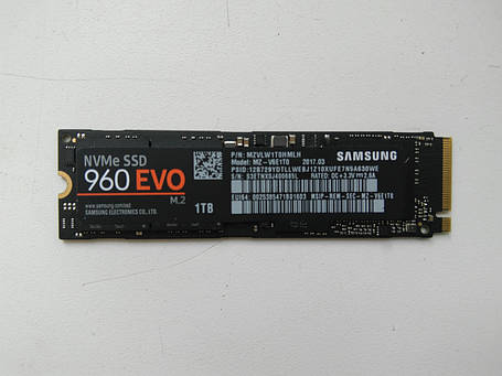 SSD накопитель Samsung 960 EVO 1TB (MZ-V6E1T0BW), фото 2