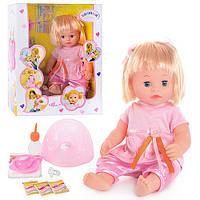 Кукла Валюша функциональная, разговаривающая. T0912 (аналог беби борн)
